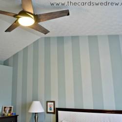 bedroom updates with fan
