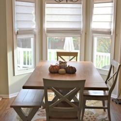 custom blinds kitchen update