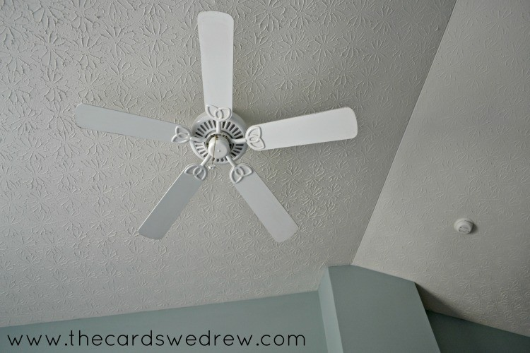old white fan
