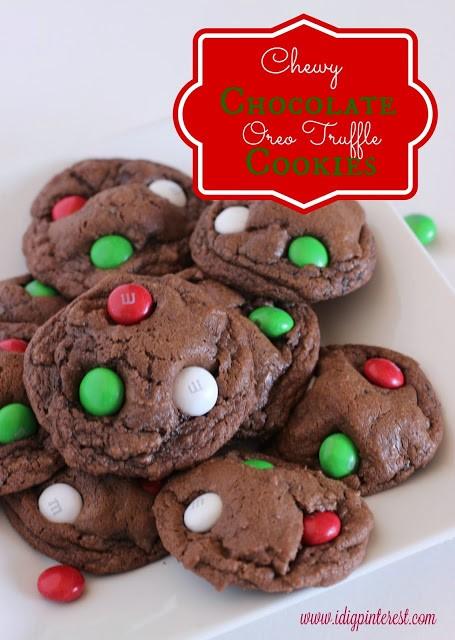 oreo truffle cookies