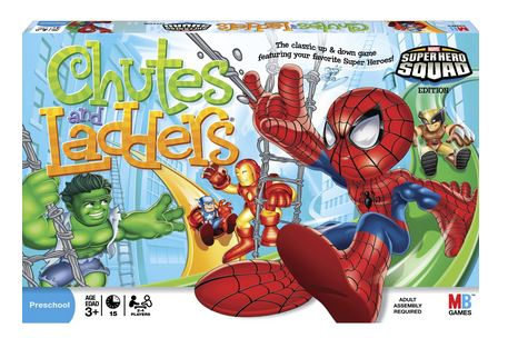 superhero chutes and ladders