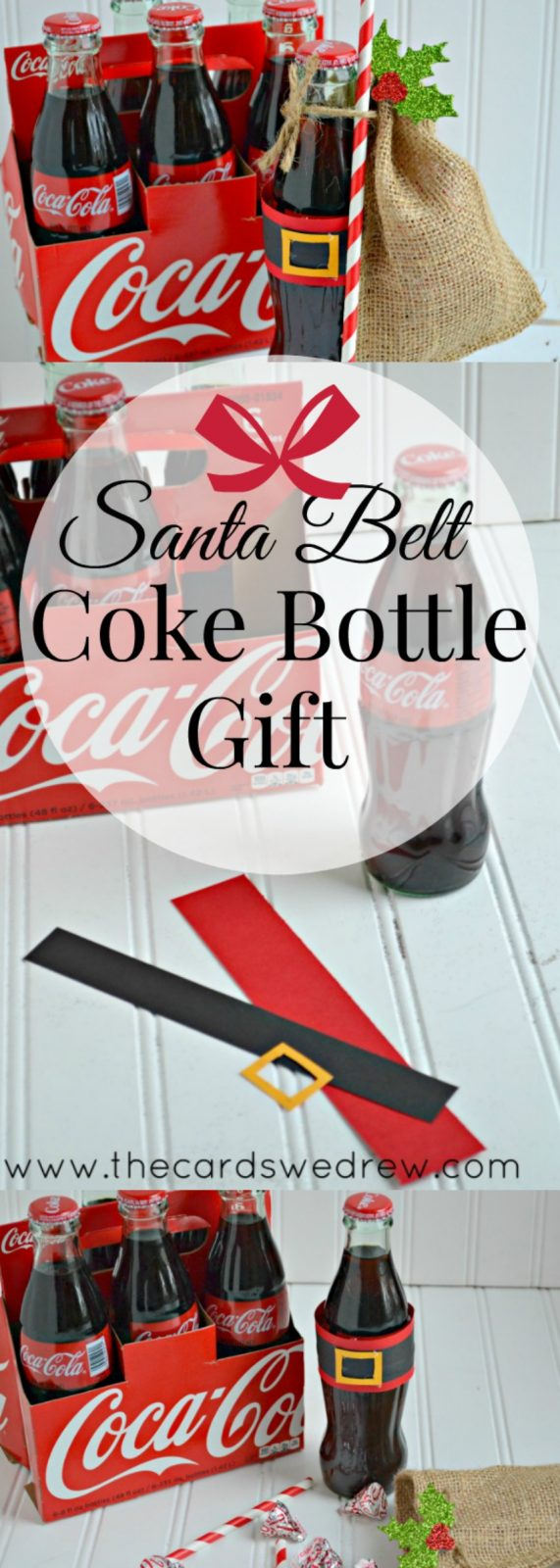 Get Inspired with Gift Giving: Santa Belt Coke Bottle Gifts - The ...