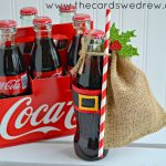 Get Inspired with Gift Giving: Santa Belt Coke Bottle Gifts