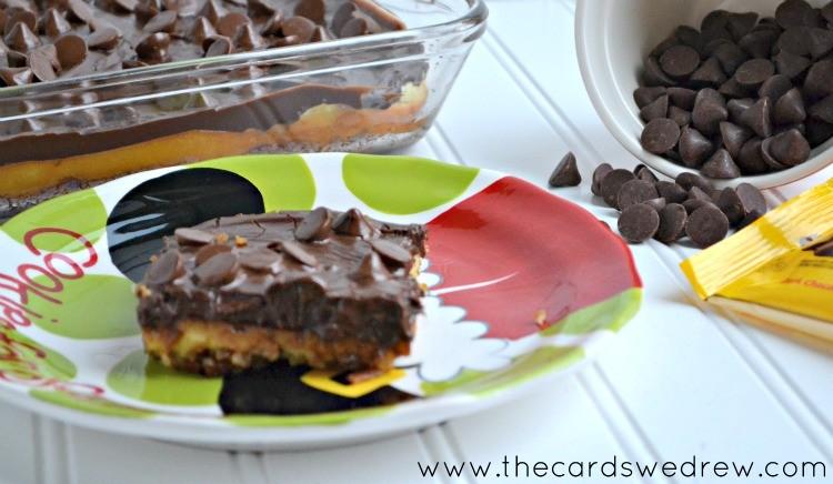 chocolate cherry cheesecake bars