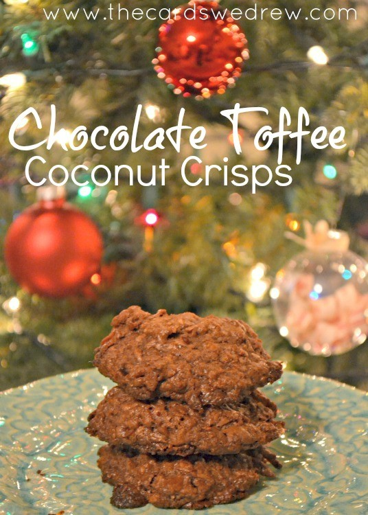 chocolate coconut crisps from The Cards We Drew