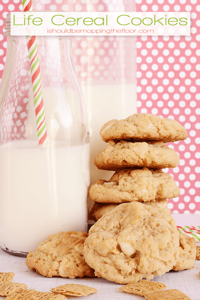 life cereal cookies