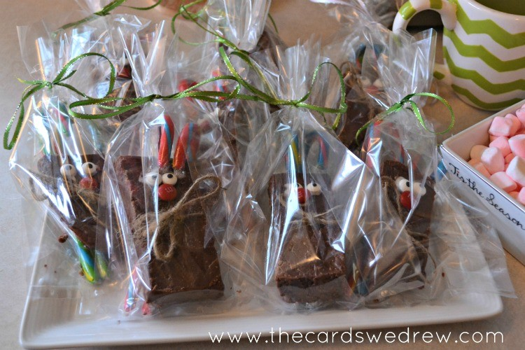 reindeer fudge favors