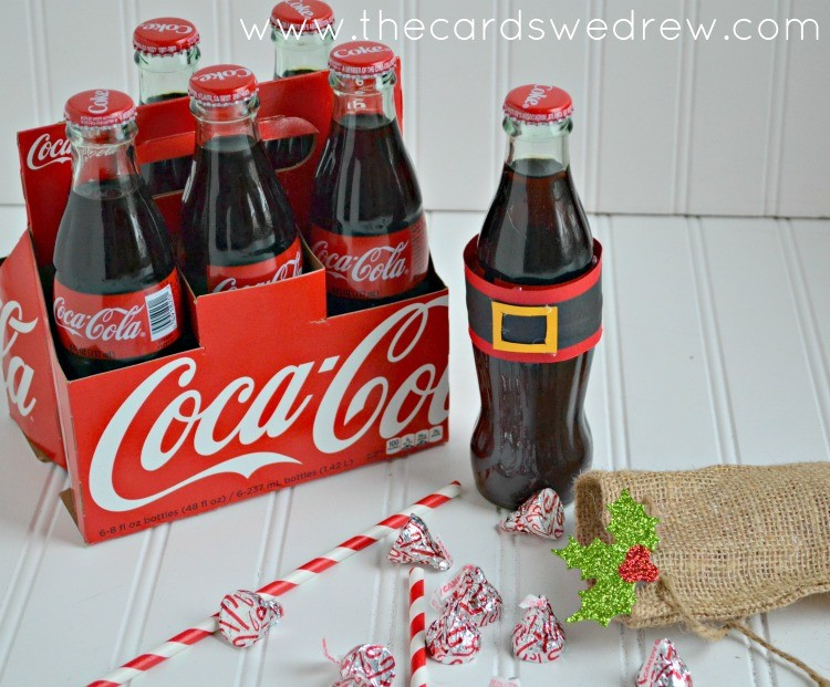 santa belt coke drinks