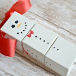 DIY Snowman Wood Block Ornament