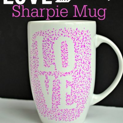10 Minute Sharpie Mug for Valentine's Day