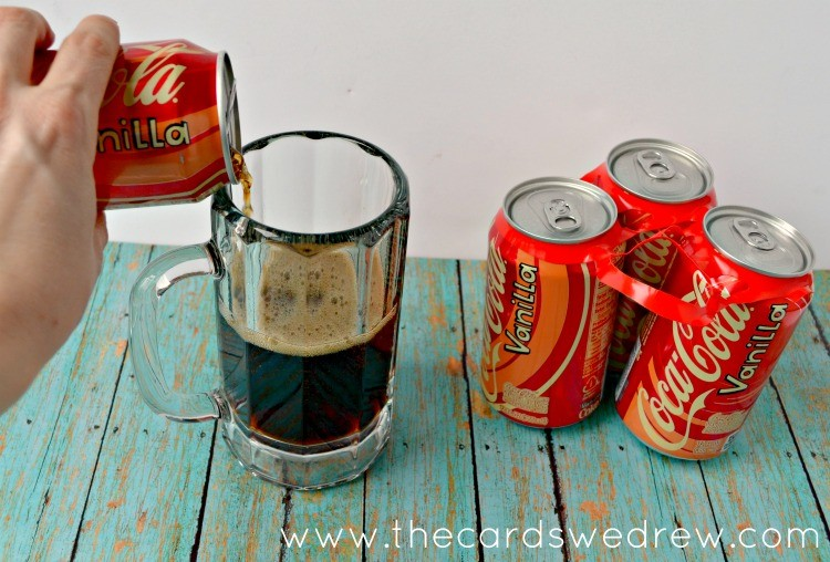 Coke Vanilla float