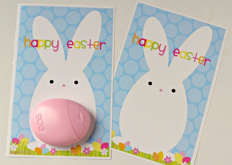 EOS Lotion prints for Easter