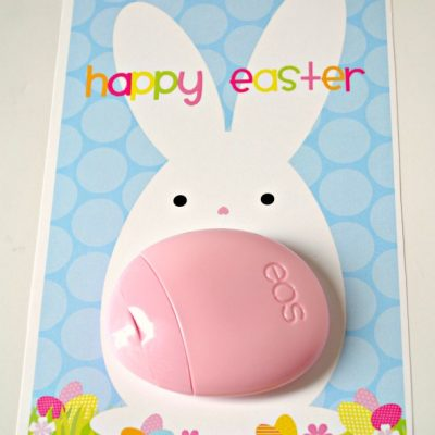 Easter Bunny EOS Lotion Printable