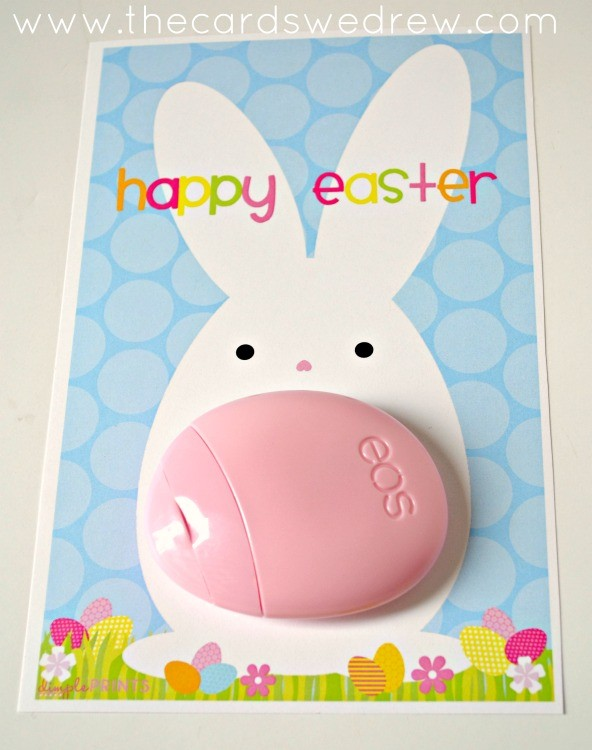 Easter Bunny EOS Lotion Print from The Cards We Drew and DimplePrints