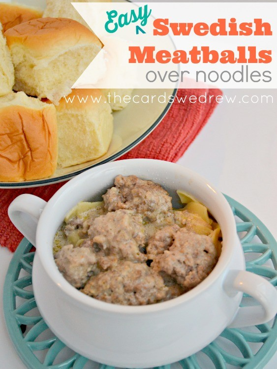 Feb 22, · Swedish Meatballs over Noodles is one of those delicious, classic recipes that everyone should know how to make! Swedish Meatballs are tender little meatballs made from ground beef and pork that are first browned in a skillet, then smothered in a creamy, super flavorful sauce before being baked in the oven to cook toybook9uf.gags: