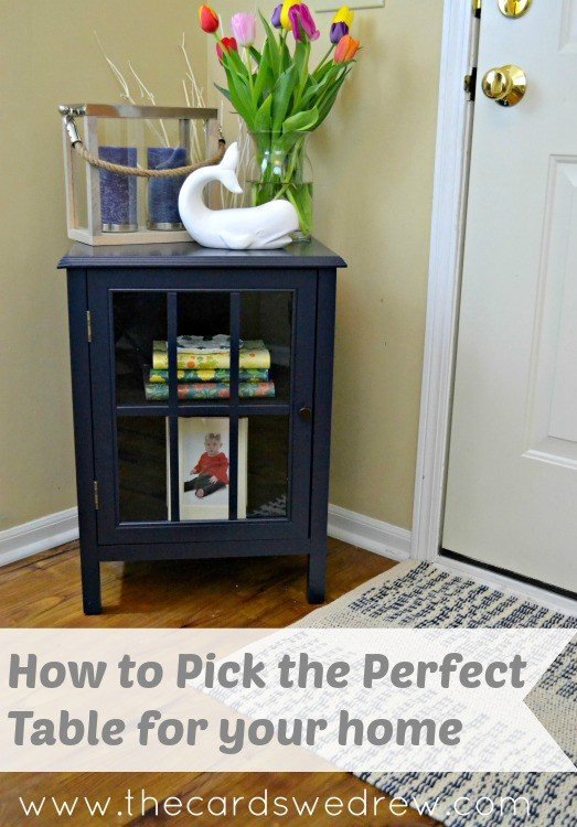 How to pick the perfect table for your home