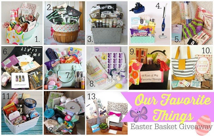 25 Bloggers Giving Away 25 Favorite Thing Baskets! www.poofycheeks.com