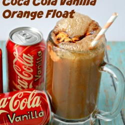 Slam Dunk Coca-Cola Vanilla Orange Float from The Cards We Drew #FinalFourPack #Ad
