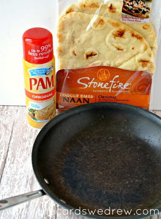 Use PAM to grease your pan