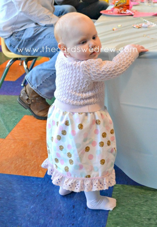 confetti birthday party dress