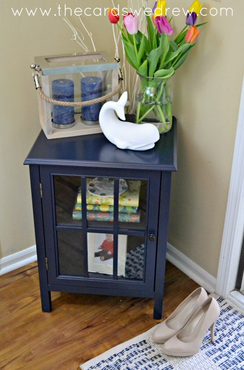 front entry table makeover