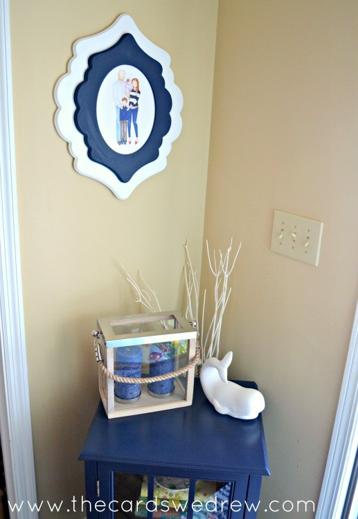 front entry way wall decor