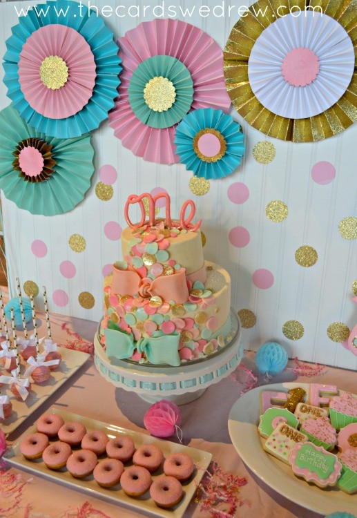 girl's first birthday party