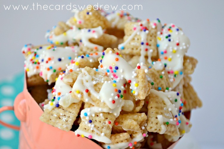 sprinkled chex mix recipe