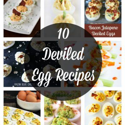 10 Deviled Egg Recipes