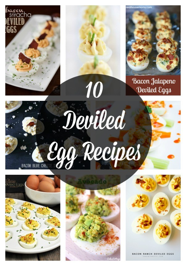 10 Deviled Egg Recipes