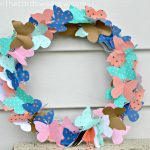 Easy Swarming Butterfly Wreath