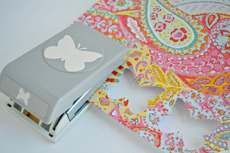 butterfly hole punch
