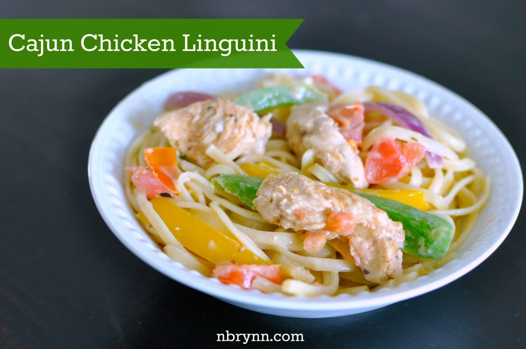 Cajun Chicken Linguini Recipe