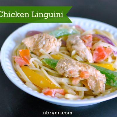 Cajun Chicken Linguini Recipe & Everyday Gratitude