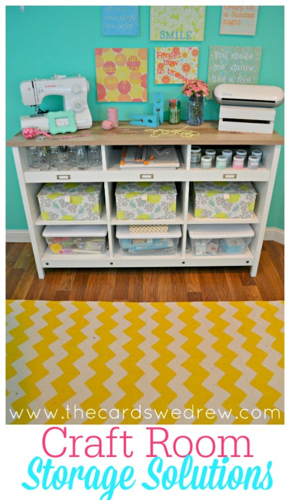 craft room storage solutions with sauder the cards we drew