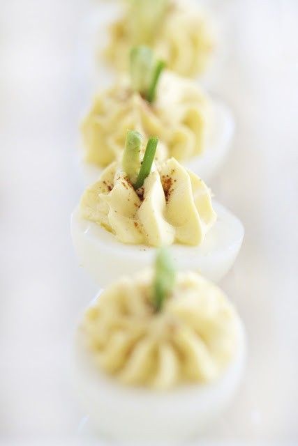 cream cheese deviled eggs