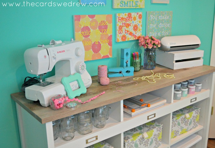 Craft Room Organizer Systems: Craft Room Storage Solutions With Sauder