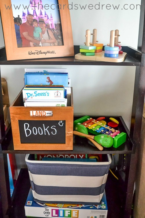 toy storage ideas for shelves