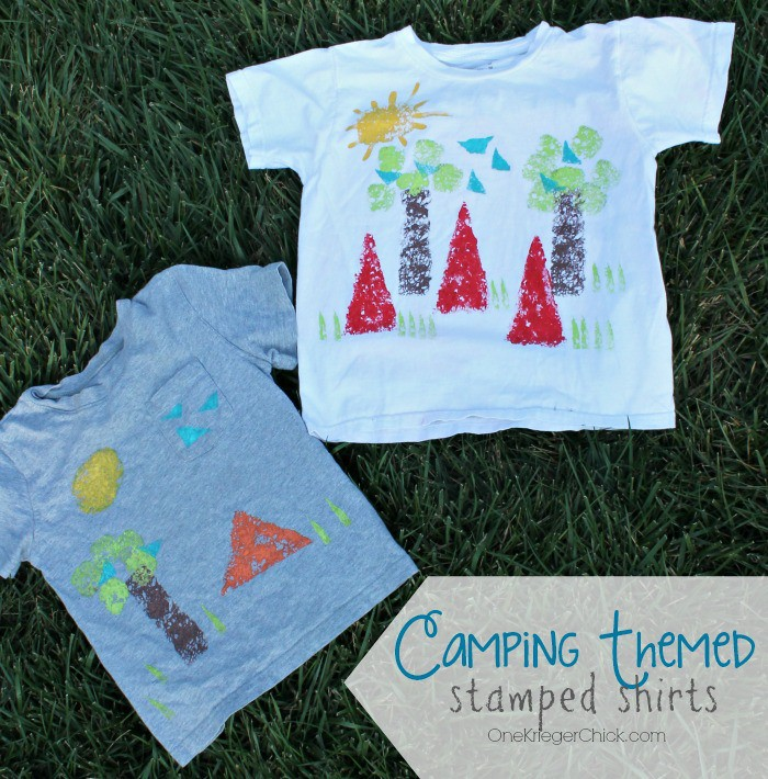 Camping-Themed-stamped-shirts-for-Kids-OneKriegerChick.com_