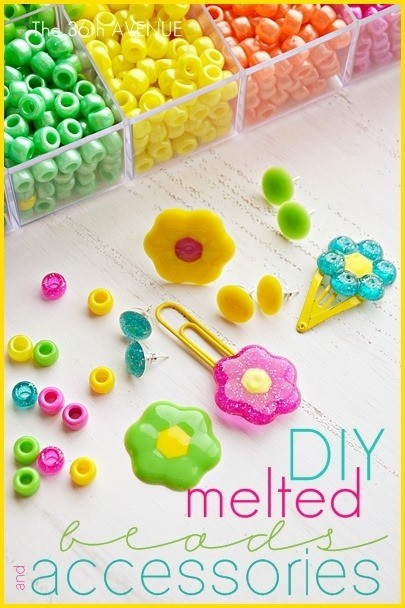 DIY Melted Beads