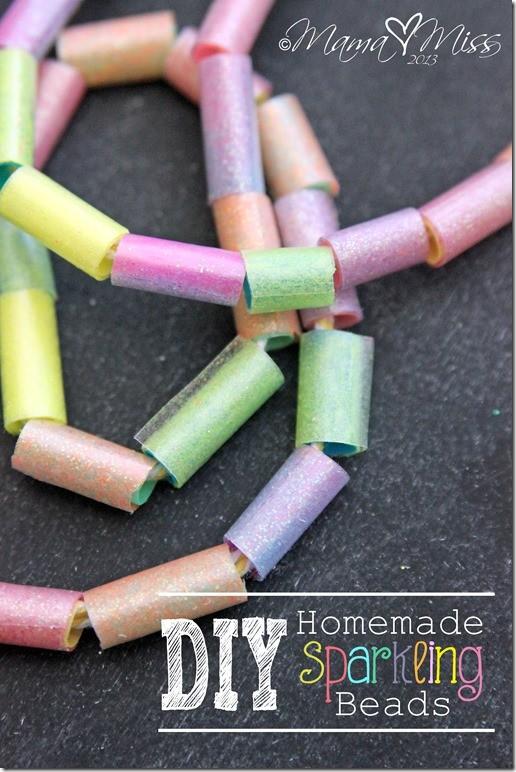 DIY Sparkling Beads