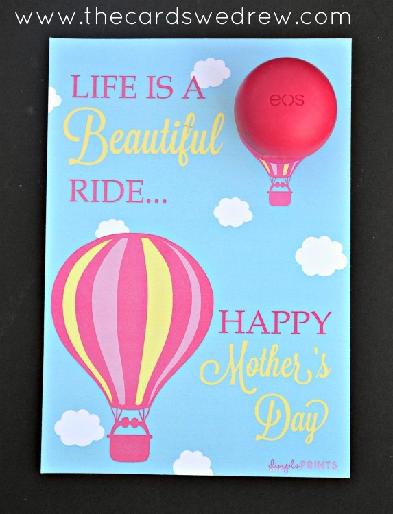 EOS Lip Balm Mother's Day prints
