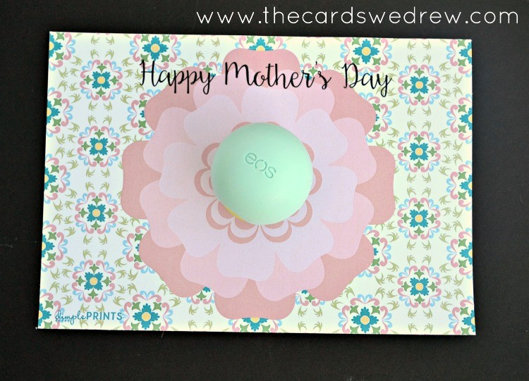 Happy Mother's Day EOS Flower Print from The Cards We Drew