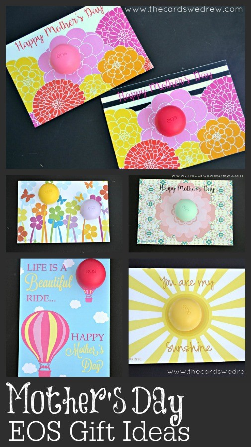 Mother's Day EOS Gift Ideas from The Cards We Drew
