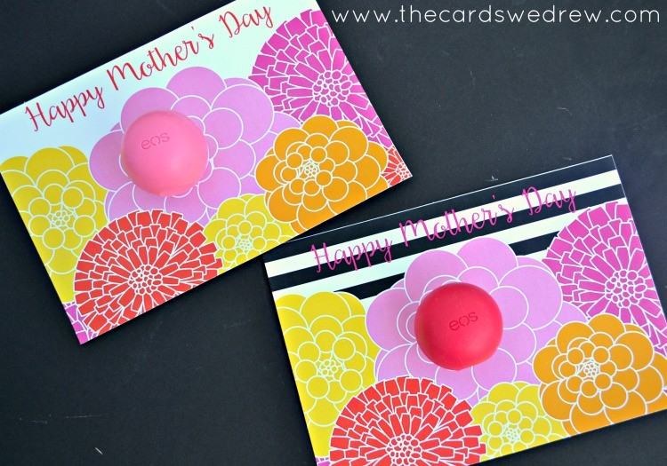 Mother's Day Flower EOS Printables