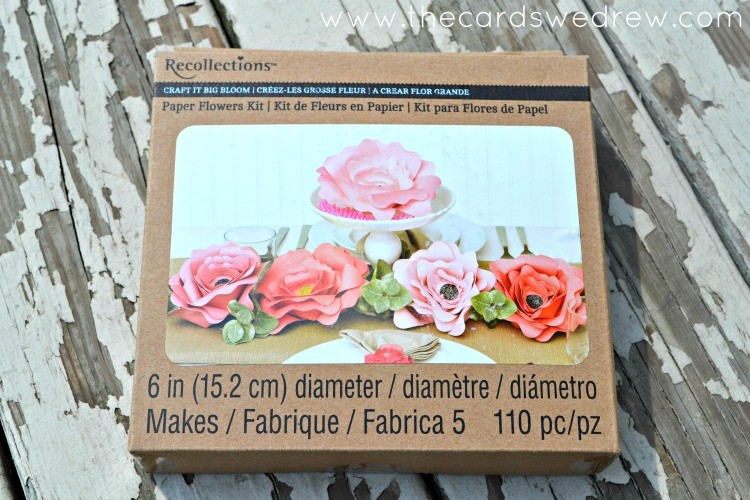 Recollections Big Blooms Paper Flower Kit