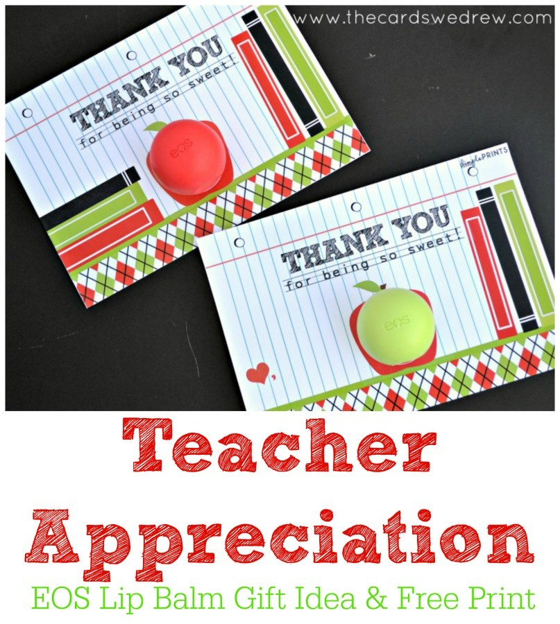 image relating to You're the Balm Teacher Free Printable identified as No cost Trainer Appreciation Lip Balm Prints