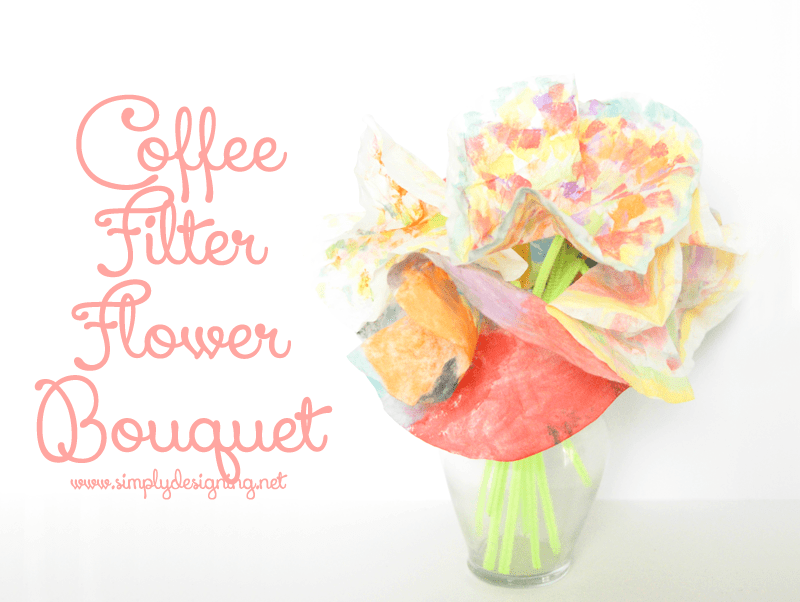 coffee filter flower bouquet DSC04294 SD