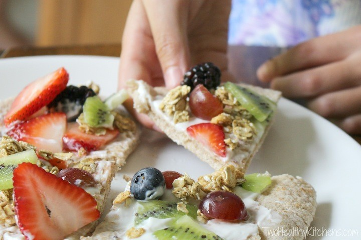 no bake fruit pizza