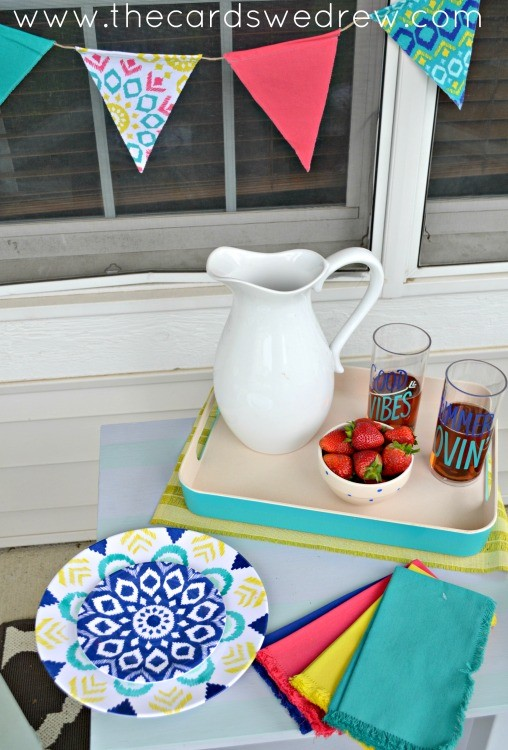 summer entertaining with target